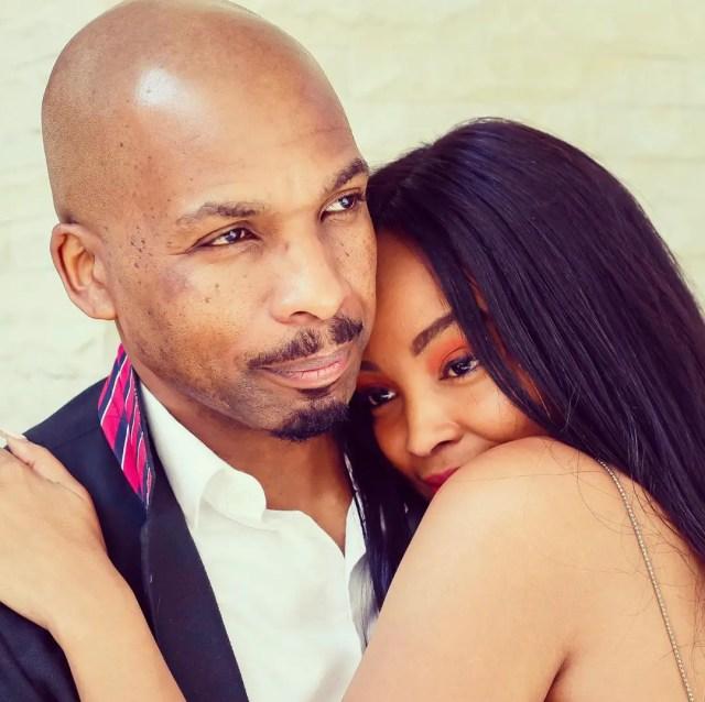 Lebo Gunguluza and wife Lebo