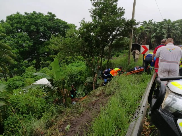 Multiple people injured in Durban taxi rollover