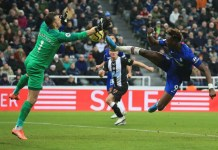 Newcastle 1 - 0 Chelsea