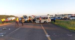 Pretoria taxi rollover