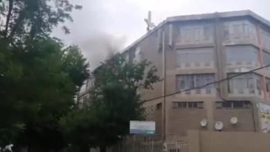 Randburg flats go up in smoke