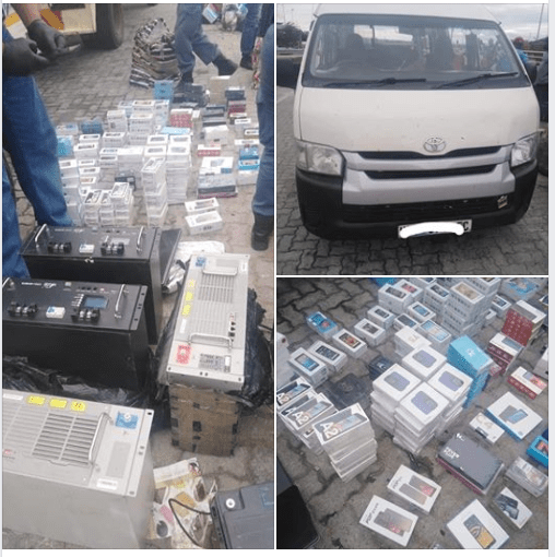 Stolen Goods headed to Zimbabwe Recovered