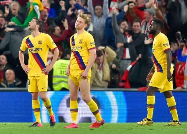Athletic Bilbao 1 - 0 Barcelona