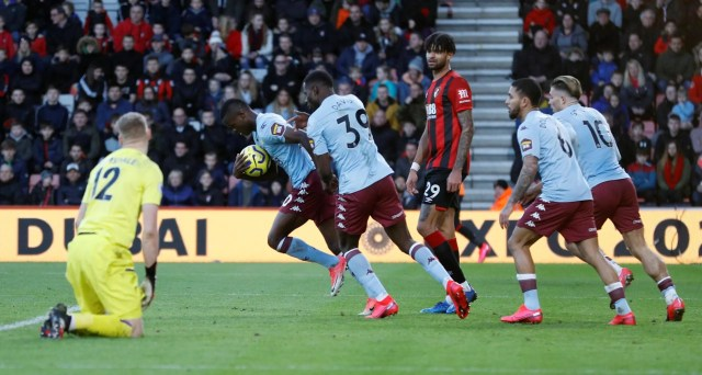 Bournemouth 2 - 1 Aston Villa