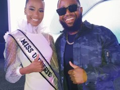 Cassper Nyovest finally meets his crush, Zozibini Tunzi