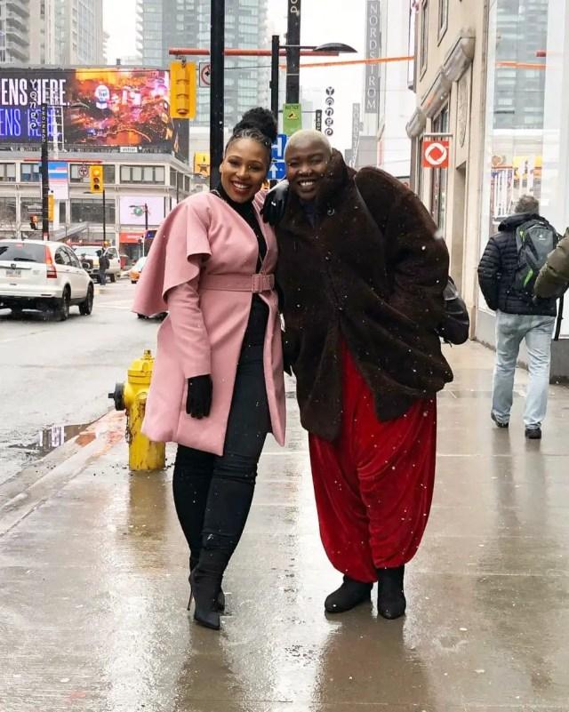Celeste Ntuli and Phindile Gwala