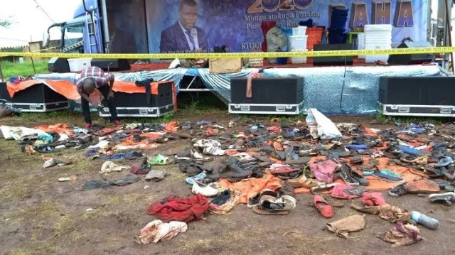 Tanzania Church Stampede Kills 20