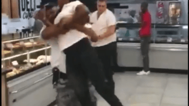 Fight in the Store