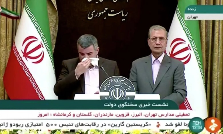 Iran deputy health minister Iraj Harirchi