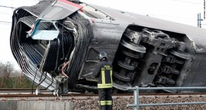 Italy high-speed train crash