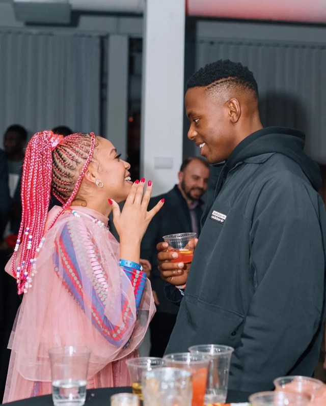 Kagiso Rabada and Sho Madjozi