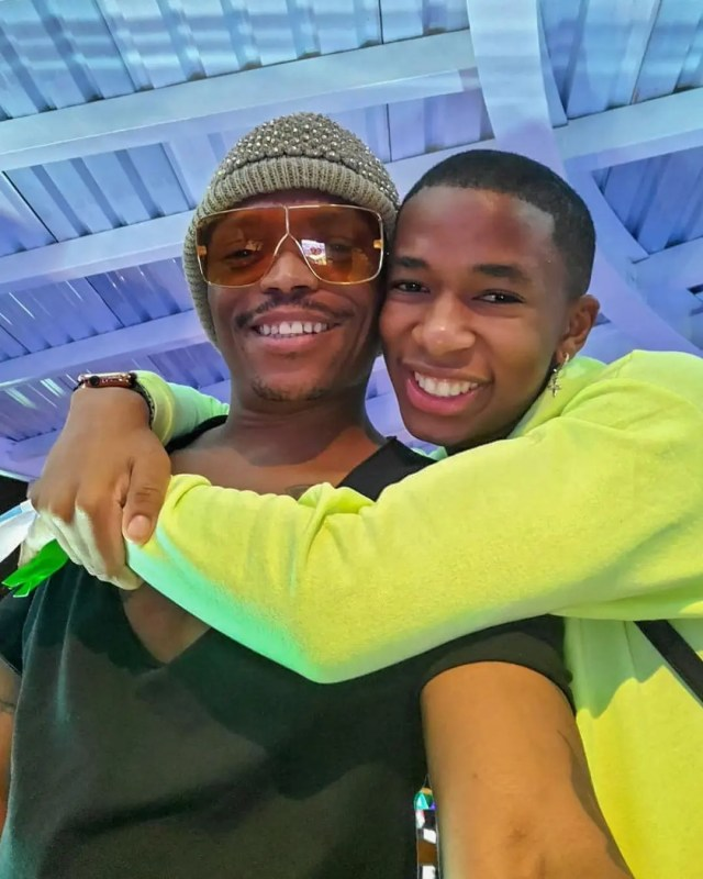 Lasizwe and Somizi