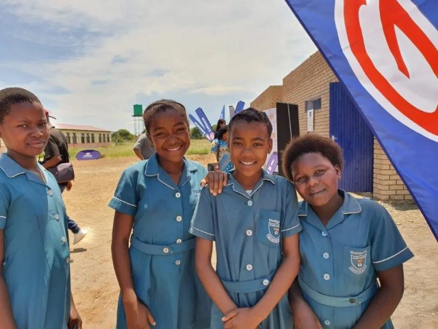 Learners at Madima Primary School