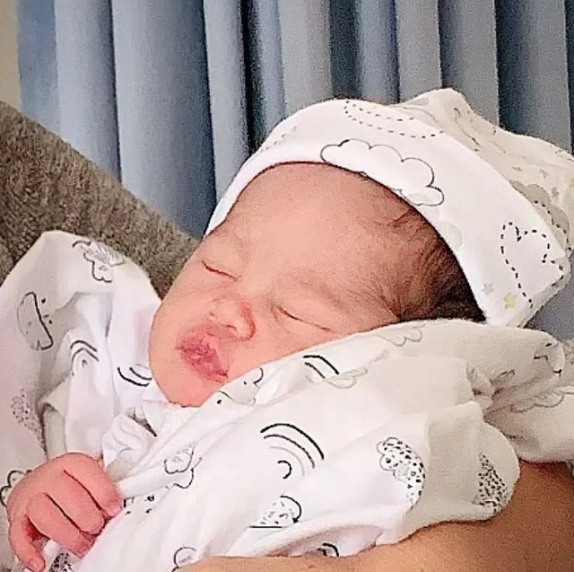 Pearl Nikolic's baby
