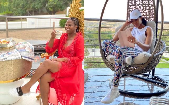 Shauwn Mkhize & Connie Ferguson