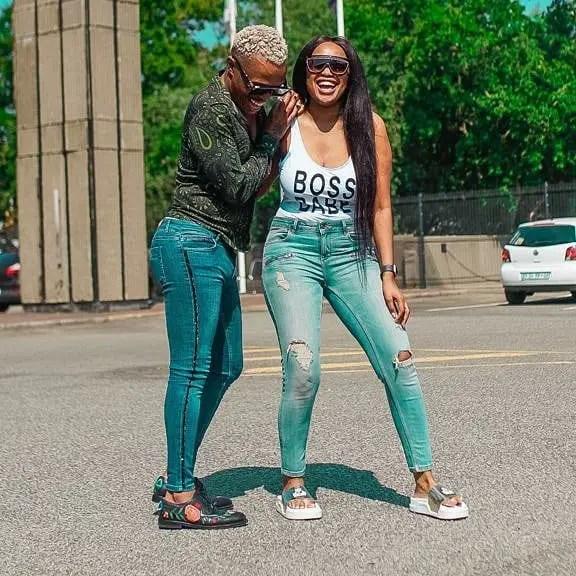 Somizi and Lerato Kganyago