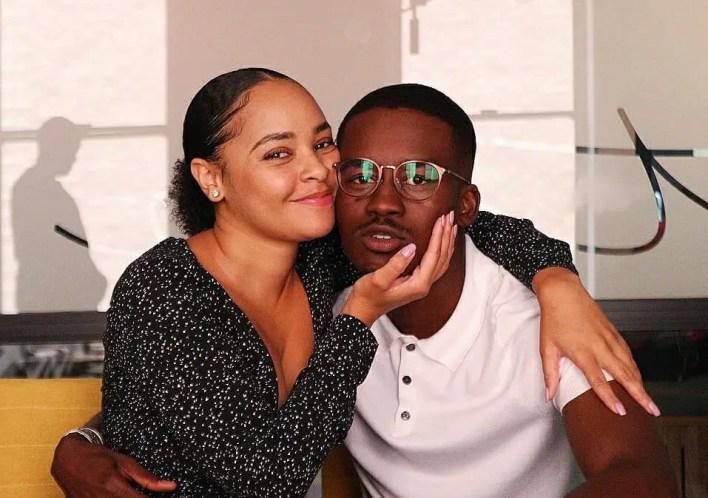 Stephanie Sandows and Hungani Ndlovu