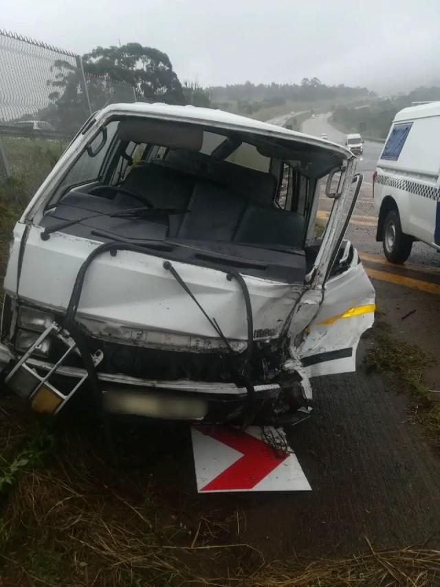 Taxi slams into SUV