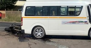 The scene of the accident on Old Pretoria Road in Midrand