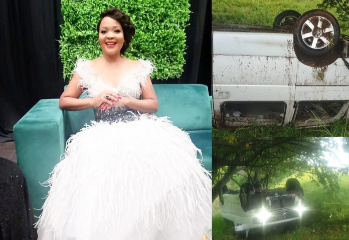 Zanele Mbokazi accident