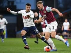 Burnley 1 - 1 Tottenham