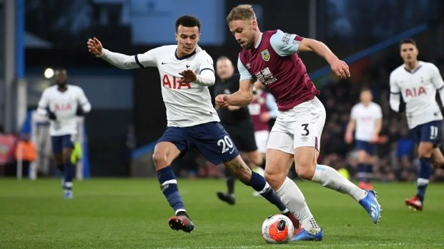 Burnley 1 - 1 Tottenham