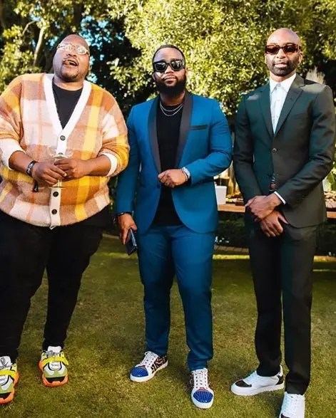 Cassper Nyovest and Riky Rick and Stogie T