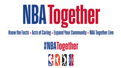 """Photo of NBA Launches Global """"NBA Together"""" Campaign In Response to Coronavirus Pandemic"""