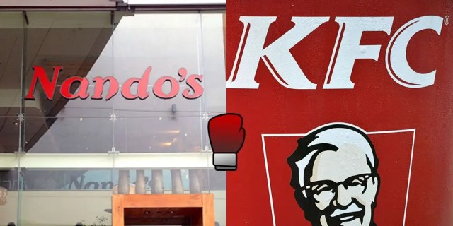 Nando's and KFC