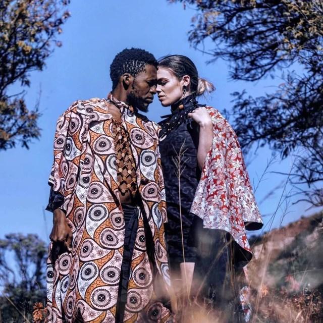 Nyaniso Dzedze and wife