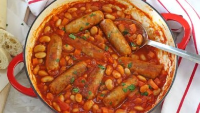 Photo of Sausage and bean casserole – Recipe