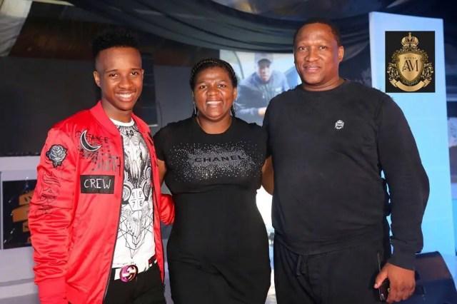 Shauwn Mkhize and Sbu Mpisane
