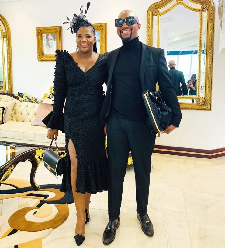 Shauwn Mkhize and Tha Simelane