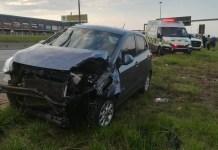 Two injured Edenvale crash