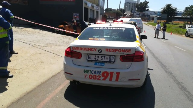 Two killed after car slams into building