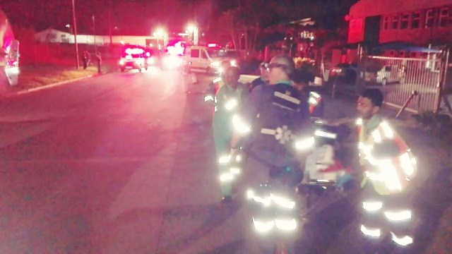 Woman critical after being struck down by bakkie at work place