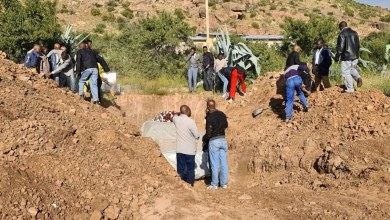 man buried in his favourite car
