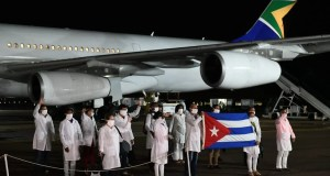 Cuban healthcare workers