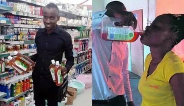 Dettol is not for Drinking