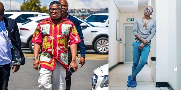 Fikile Mbalula and Somizi