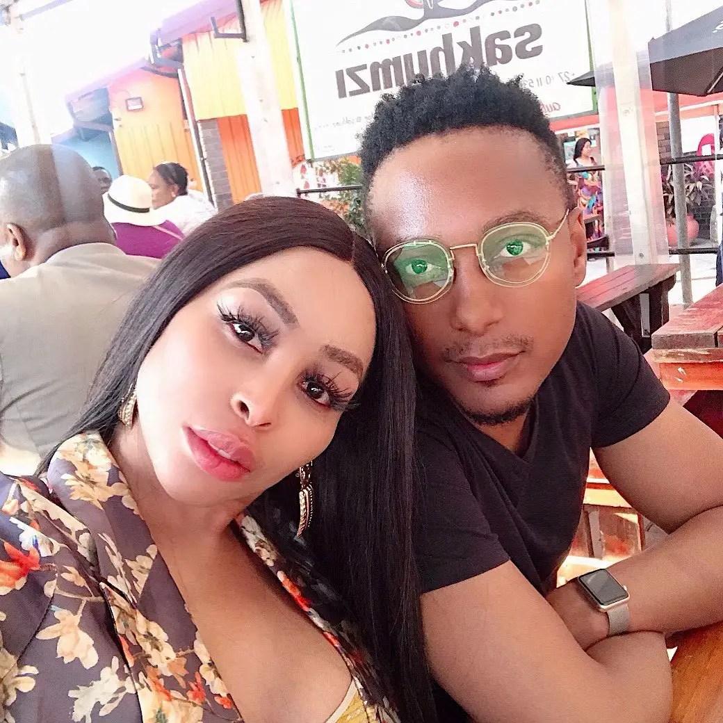 Khanyi Mbau and Tebogo Lerole