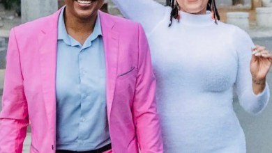 Letoya Makhene and Lebo