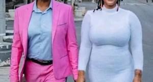 Letoya Makhene and Lebohang Keswa
