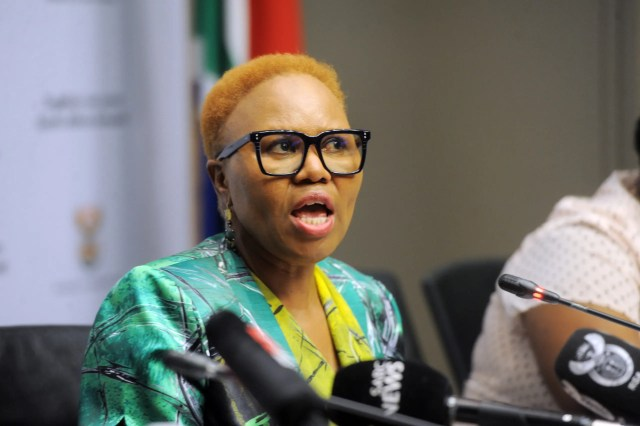 Minister of Social Development Lindiwe Zulu