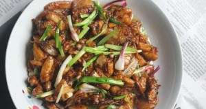 Stir-fried pork