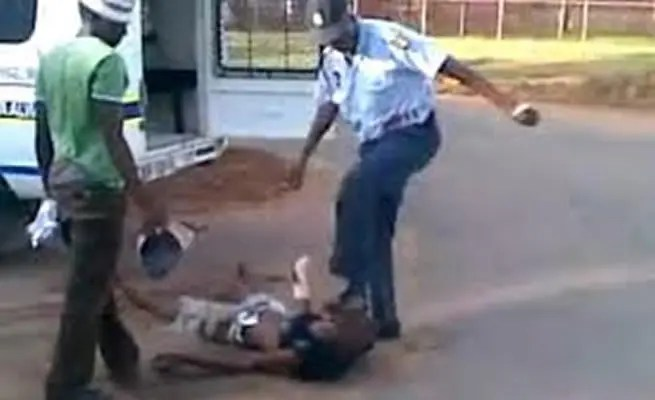 police and army brutality