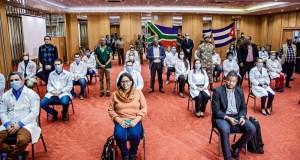 Cuban healthcare workers in South Africa