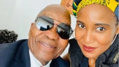 Dudu Zuma-Sambudla and Jacob Zuma