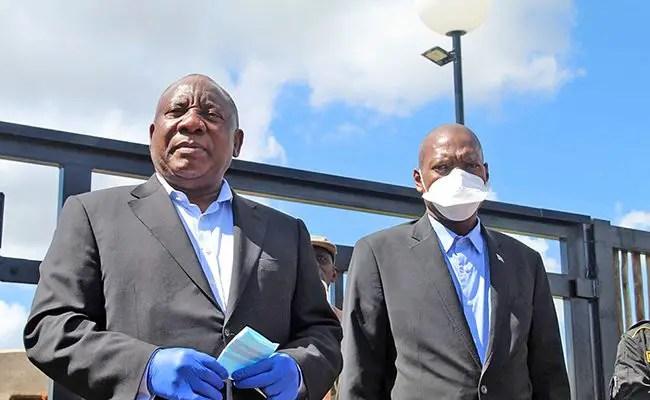 Health Minister Zweli Mkhize