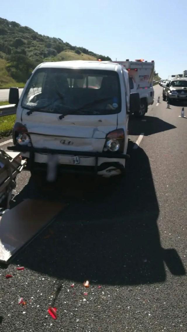 Motorists escape injury